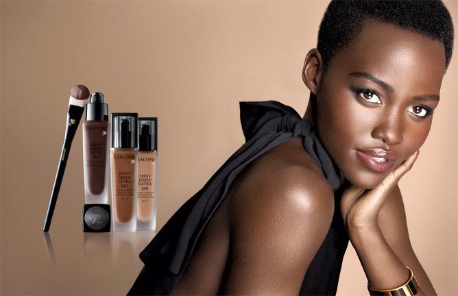 Lupita Nyong'o para Lancôme (Foto: Lancôme)