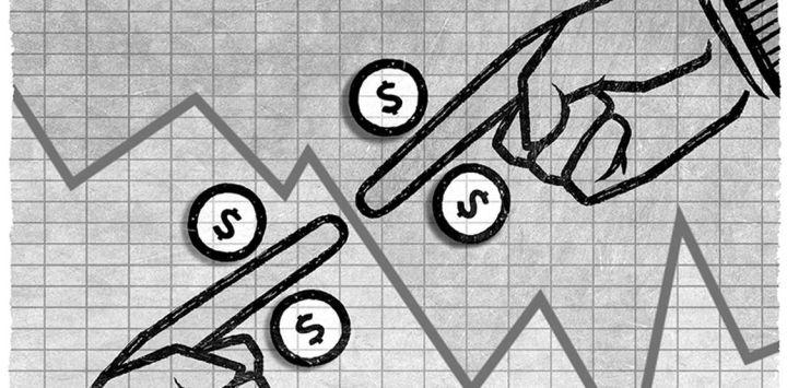 Gráfico representativo de política econômica