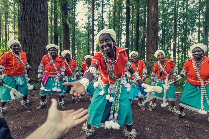 Dançarinas da África do Sul
