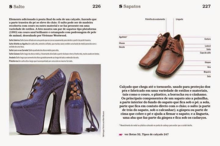 página 227 do livro dicionário ilustrado da moda