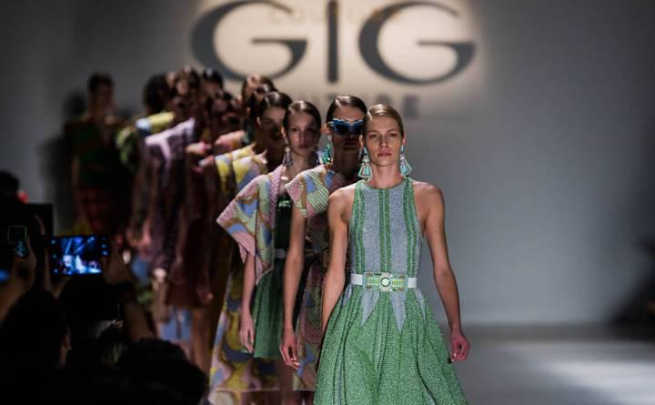 Desfile Gig Couture SPFW